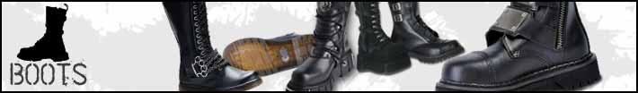 Mens gothic boots