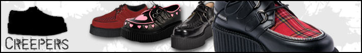 Creepers shoes and boots