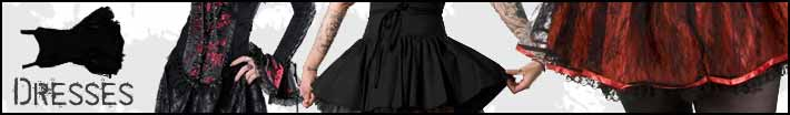 short gothic dresses