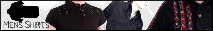 Mens gothic shirts
