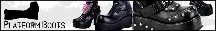 Gothic platform boots