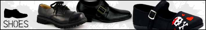 Mens gothic shoes