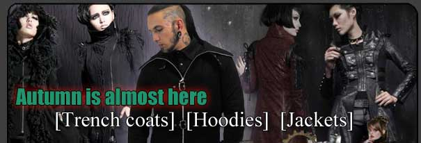 Trench Coats, Hoodies, Jackets