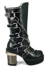 MOTORHEAD black chain boots