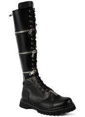 REVOLVER-1 Rivithead Zip-Off Boots