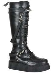 V-CREEPER-588 Black Creeper Boots