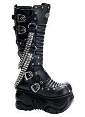 BOXER-206 Pyramid Ribbed Boots