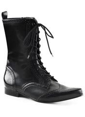 BROGUE-10 Lace up boot