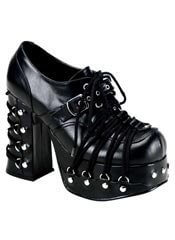 CHARADE-35 Corset Platform Shoes