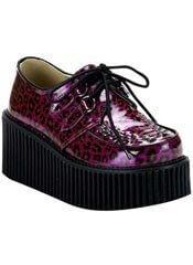 CREEPER-208 purple leopard creepers