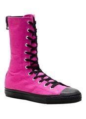 DEVIANT-201 Pink Sneaker Boots