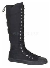 DEVIANT-303 Black Sneaker Boots