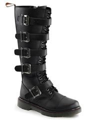 DISORDER-420 5 Eyelet 5 Buckle Boot