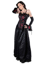 Elektra Long Gothic Dress