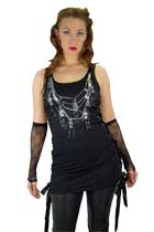 Vengence Skeleton Chain Dress