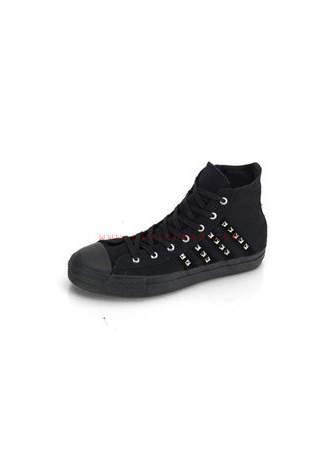 DEVIANT-103 Pyramid Stripe Sneakers