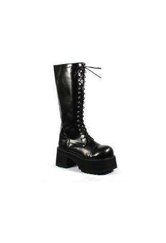 RANGER-302 Black Knee Boots