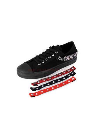 DEVIANT-07 Multi Strap Sneakers