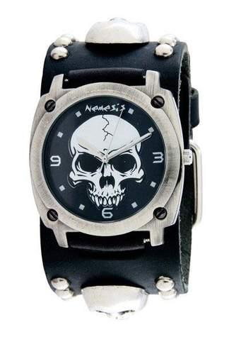 Heavy Duty Skull with Stud Watch