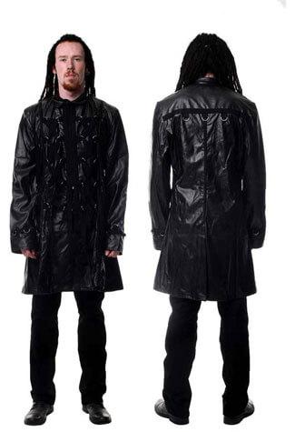 Hide Short Tai D-Ring Coat