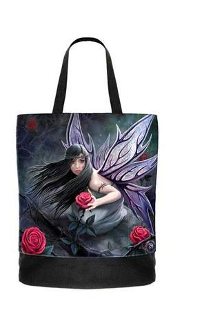 Rose Fairy Tote Bag - Anne Stokes - Clearance