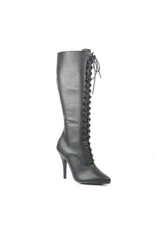 SEDUCE-2020 Black Leather Boots