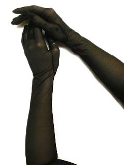 Long Gomma Finger Gloves