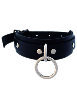 Leather Choker 61CSRLR