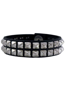 80 Leather Wristband