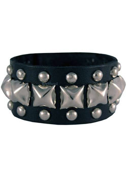 9 Leather Wristband