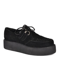 T.U.K. Black Suede Mondo Creepers