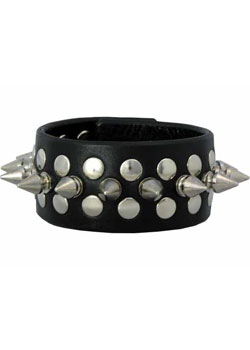 Half Metal Punk Wristband