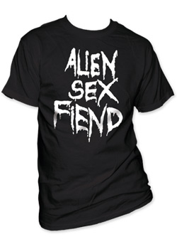 Alien Sex Fiend - Drippy Logo