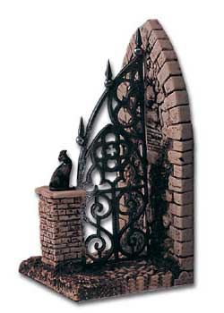 Cemetery Gate Book-End