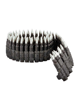 0.223 MM Caliber Bullet Belt