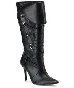 BANDIT-120 Black Pirate Boots