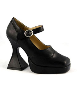 BAT - Black PU Shoes