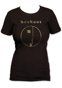 Bauhaus - Logo gold