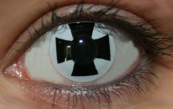 Black Cross Funky Lenses