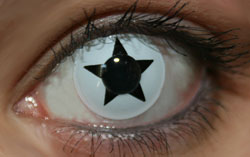 Black Star Funky Lenses