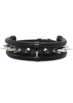 Contagion Chrome Spike Choker