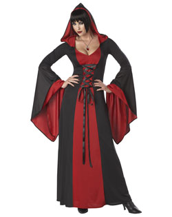 Deluxe Hooded Robe - Red