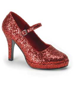 CONTESSA-50G Red Dorothy Heels