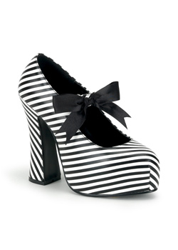 DEMON-20 Striped Maryjane Shoes