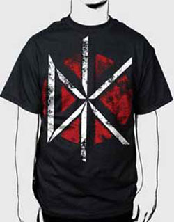 Dead Kennedys - Distressed DK Logo Black