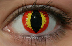 Dragon Eyes Funky Lenses