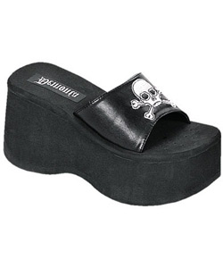 FUNN-22 Skull Platform Sandals