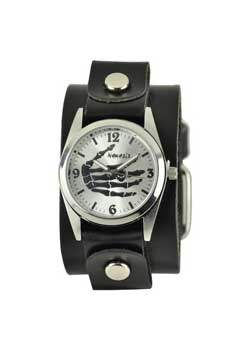 Palm Bones Leather Watch