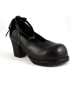 GOBLIN-01 Black PU Shoes