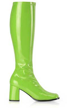 GOGO-300 Lime Gogo Boots